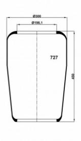 727N Пневмобаллон