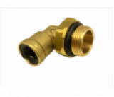 9502 8-M16X1,5 Фитинг трубки ПВХ,полиамид d=8мм (наружная резьба) М16х1.5 угольник латунь CAMOZZI